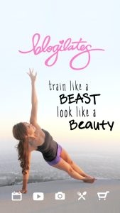 top fitness app - blogilates