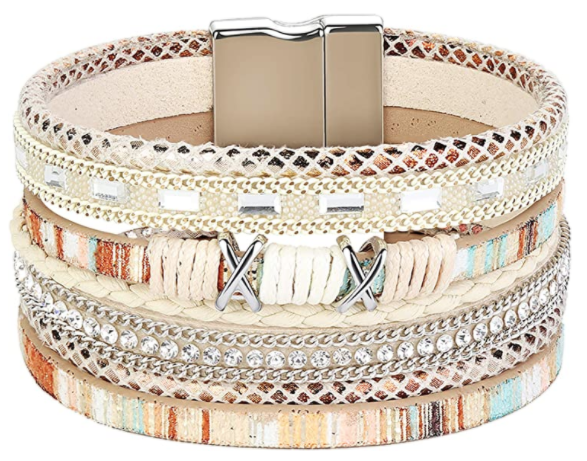 Boho Wrap Bracelet - color